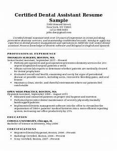 Good College Student Resume Free 8 Dental Assistant Resume Samples In Pdf Word