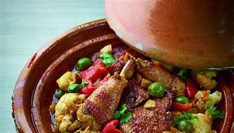 tajin moroccan cuisine moroccan chicken tagine with cauliflower