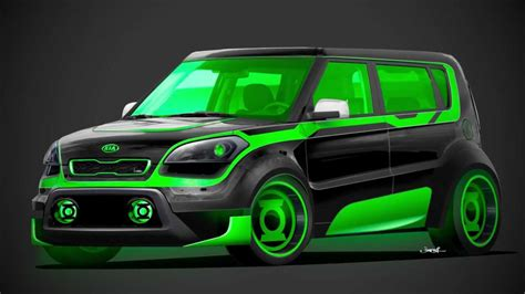 green lantern kia soul built  justice ep  youtube