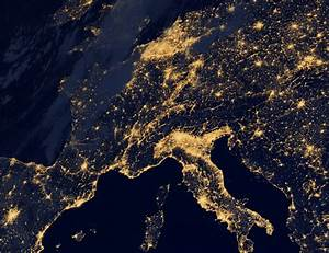 Earth from Space: Europe at Night, by NASA » Ciel Bleu Media