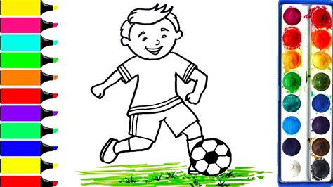 football player coloring pages art colors  kids