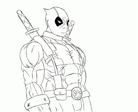 deathstroke  deadpool coloring pages coloring home