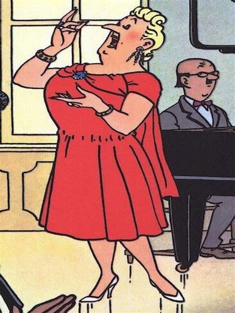 bianca castafiore tintin comics american cartoons