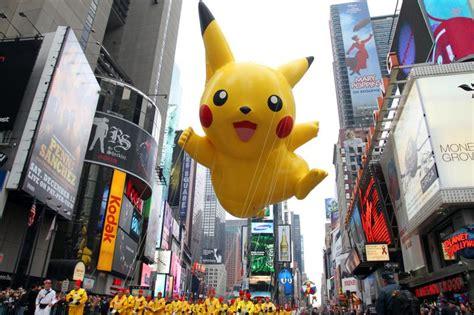 pikachu macys thanksgiving day parade wiki fandom