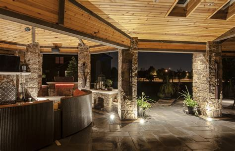 Gazebo, Pergolas and Pavilions   Outdoor Lighting in