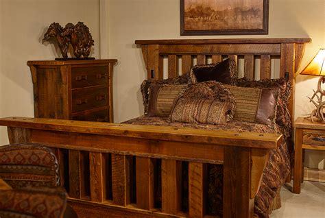 rustic barn beam bed colorado classics