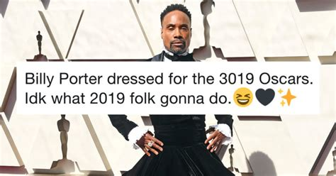 Billy Porter Shuts Down The Red Carpet Stunning