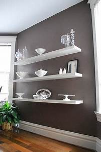 dining room wall shelves white with glass or silver With kitchen cabinets lowes with decorative wall art for living room