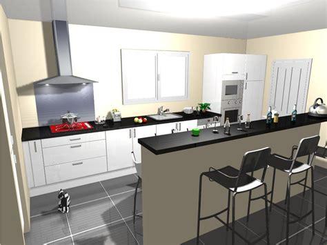 cuisine sol blanc idée carrelage noir avec cuisine blanc laquée 8 messages