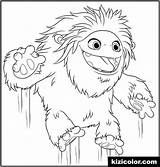 Coloring Yeti Comments sketch template
