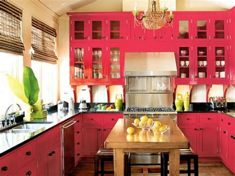 How To Make Hot Pink Kitchen Without Lining The Walls