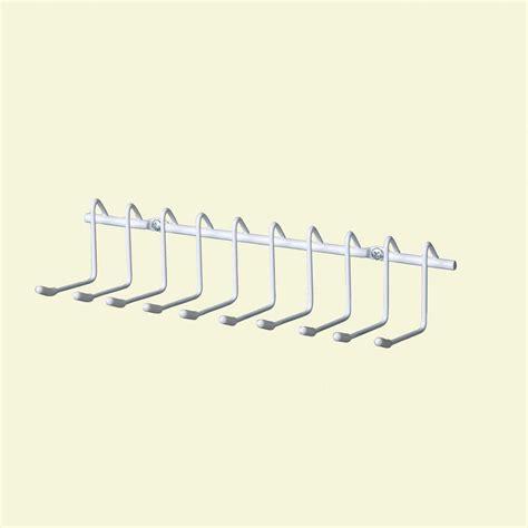 closetmaid belt and tie rack closetmaid 10 hook horizontal tie and belt rack 71008