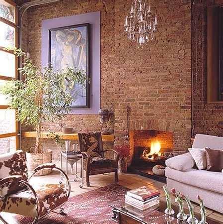 modern interior design ideas blending brick walls