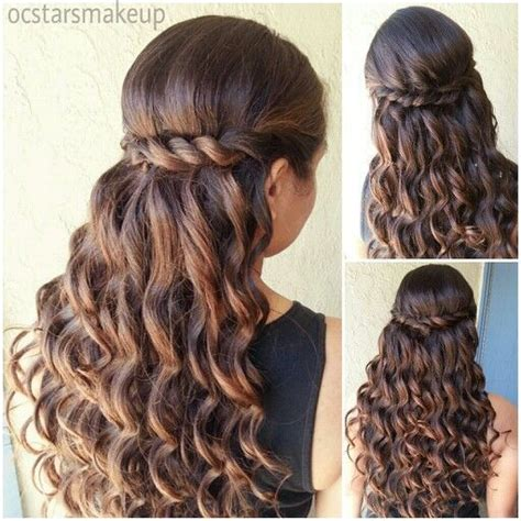 Quinceanera Hairstyles With Curls by Quinceanera Hairstyles With Curls And Tiara Hair