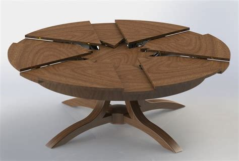 expanding round table plans expanding round dining room table flatblack co