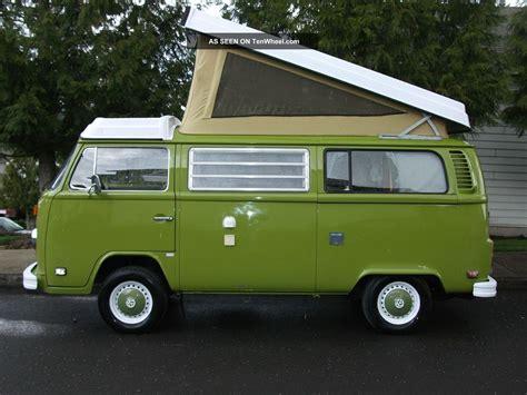 volkswagen bus westfalia camper edition
