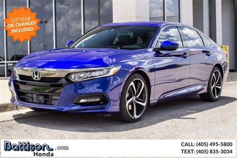 2019 Honda Accord Sport Oklahoma City Ok 27121746