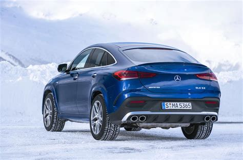 It's hard to discern the changes at first glance. Mercedes AMG GLE 53 Coupe del 2021 - Prueba de manejo • AUTORUTAS