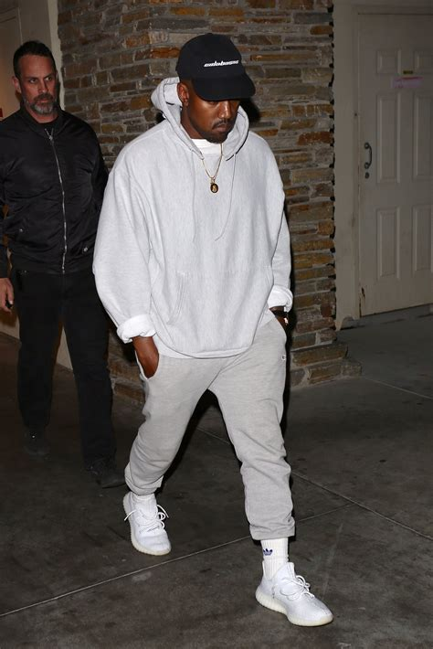 SPOTTED Kanye West In Two Sportswear Outfits u2013 PAUSE Online | Menu0026#39;s Fashion Street Style ...