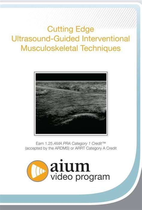 Cutting Edge Ultrasound-Guided Interventional MSK Techniques