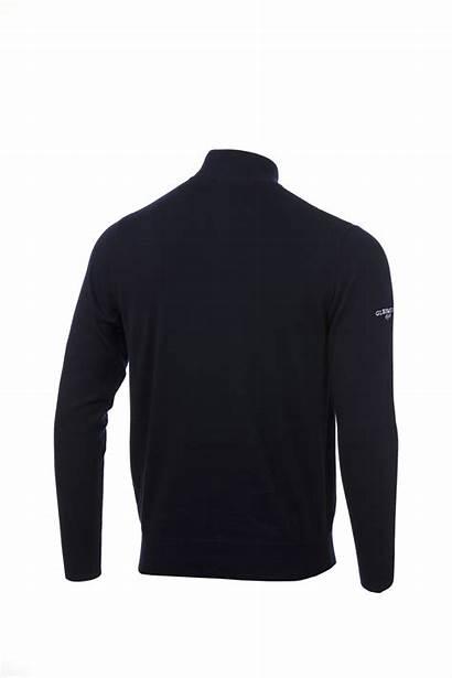Zip Glenmuir Saltire Mens Sweater Neck Sweaters