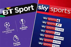 Sky Sports or BT Sports? SHOCK study shows why a good TV ...