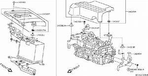 Nissan Murano Bolt  Engine  Intake  Exhaust