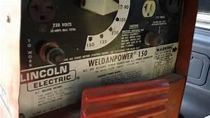 Lincoln Weldanpower 150 Trash Find Portable Gas Powered