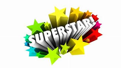 3d Superstar Employee Word Performer Stars Worker