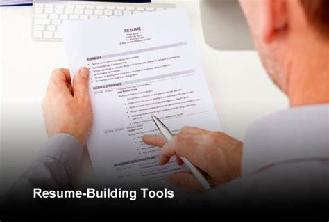 nine tools to update your resume