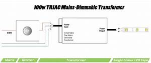 100w Dimmable Transformer  Ip Rated