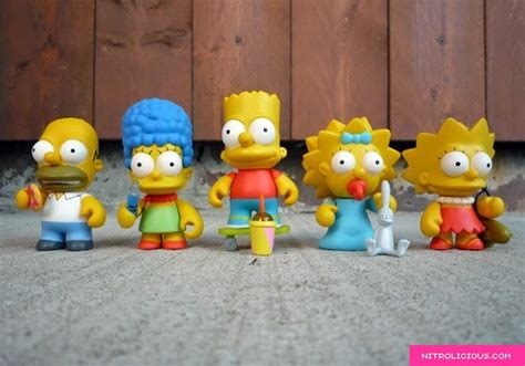Kidrobot X The Simpsons Mini-figure Series Collection