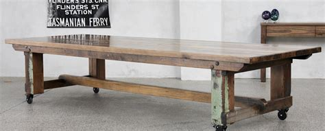Recycled Timber Dining Tables & Outdoor Timber Furniture