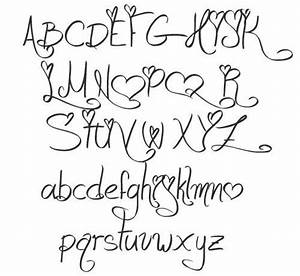Different Font Styles Alphabet | Love and Passion ...