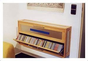 Cd Regal Buche : cd schrank cd regal ausklappbar in buche und edelstahl ~ Frokenaadalensverden.com Haus und Dekorationen