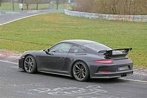 2017 Porsche 911 GT3 Spied on Nurburgring, to Get 911 R 6 ...