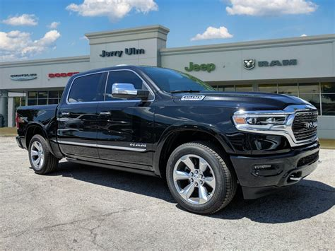 new 2019 ram all new 1500 limited crew cab in ta n558721 jerry ulm chrysler dodge jeep ram