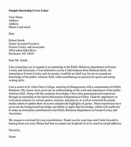 how to do a proper cover letter - public relations letter cover letter samples cover