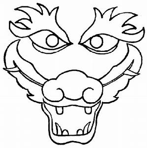 chinese dragon coloring page google search coloring With chinese dragon face template