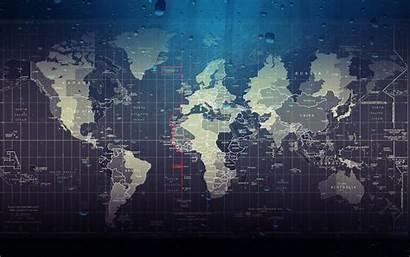 Wallpapers Global Map Screensaver