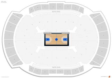 sprint center basketball seating rateyourseatscom