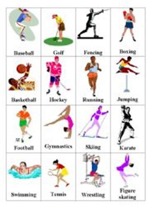 english teaching worksheets sports