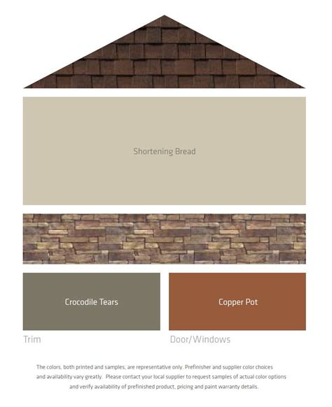 exterior house painting colors visualization fresh color palettes for a brown roof