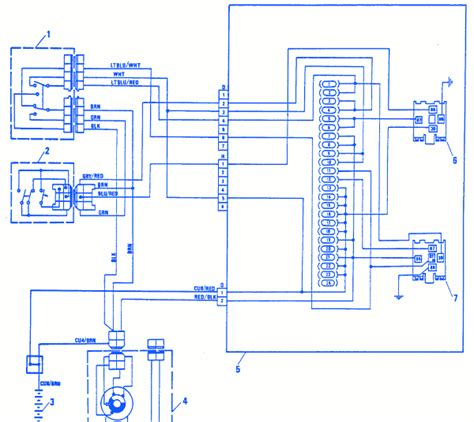 Electrical Circuit Wiring Diagram by Fiat X19 1992 Electrical Circuit Wiring Diagram 187 Carfusebox