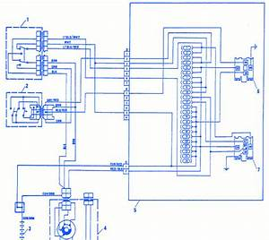 Fiat X19 1992 Electrical Circuit Wiring Diagram