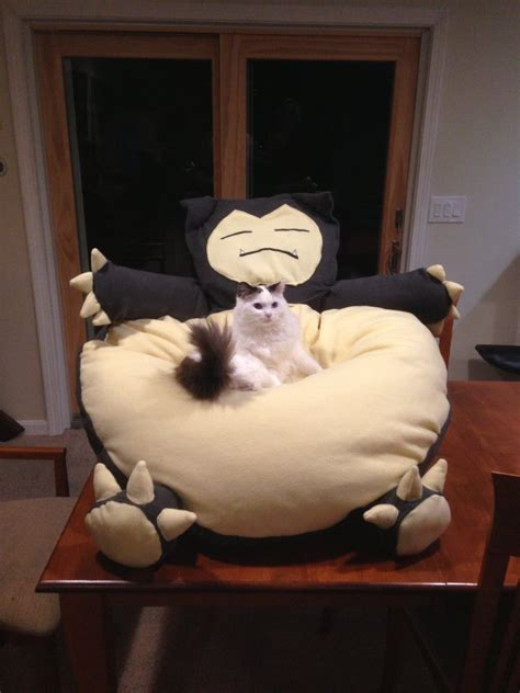 snorlax beanbag chair by alexrencurrel on deviantart