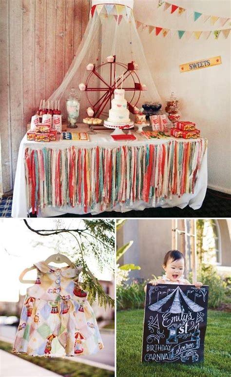 kindergeburtstag zuhause feiern ideen dekore f 252 r zirkus mottoparty kinder geburtstag feiern zuhause oder im garten geburtstag