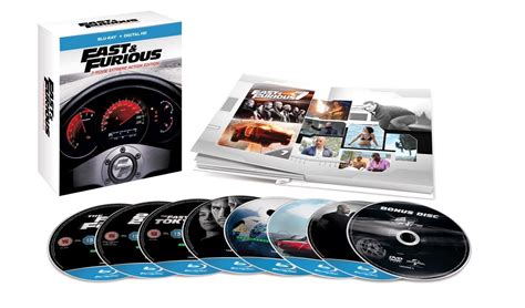 fast and furious 1 7 fast and furious 1 7 bonus disc boxset limited edition