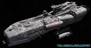 Coolhand: Big Spaceships 004 - Columbia Class Carrier ...