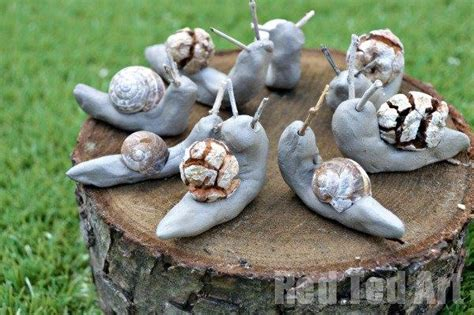 snail shell snail craft snail crafts using clay ted s 5444
